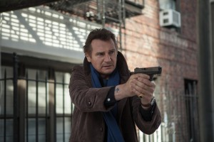 LIAM NEESON as Matt Scudder, an ex-NYPD cop who now works as an unlicensed private investigator operating just outside the law in A WALK AMONG THE TOMBSTONES. ©Universal Pictures. CR: Atushi NIshijima.