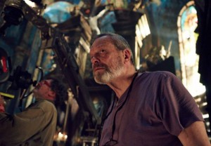 TERRY GILLIAM on the set of ZERO THEOREM. ©Voltage Pictures.