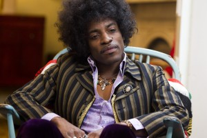 "André Benjamin as Jimi Hendrix in the drama/biopic ""JIMI: ALL IS BY MY SIDE."" ©XLrator Media. CR: Patrick Redmond."