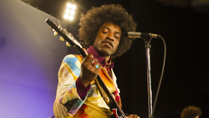 Andre Benjamin Inhabits Legendary Rocker in 'Jimi: All Is By My Side'