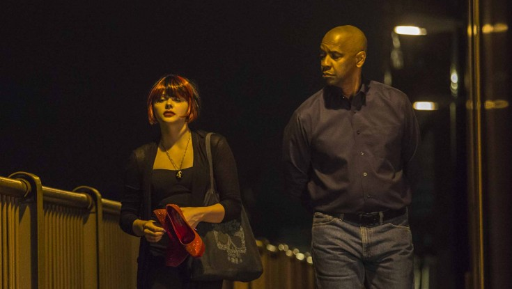 Denzel Washington Gets Candid with 'The Equalizer' – 4 Photos