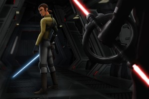 FREDDIE PRINZE JR.  voices the character Kanan Jarrus in STAR WARS REBELS. ©Disney XD.