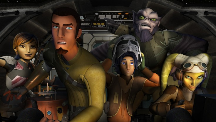 Freddie Prinze Jr. Gets Rebellious in 'Star Wars' Animated Series