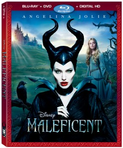 Disney Maleficent (Blu-ray / DVD Cover Art). ©Disney Enterprises.