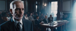 (l-r) BILLY BOB THORNTON as Dwight Dickham, ROBERT DOWNEY JR as Hank Palmer, ROBERT DUVALL as Joseph Palmer and DAX SHEPARD as C.P. Kennedy in THE JUDGE. ©Warner Bros. Entertainment/Village Roadshow.