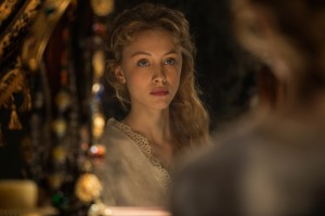 "SARAH GADON stars as Mirena in ""Dracula Untold."" CR: Jasin Boland. ©Universal Pictures."