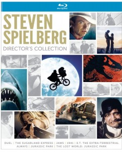 """Steven Spielberg Director's Edition"" (Blu-ray/DVD Artwork). ©Universal Studios."
