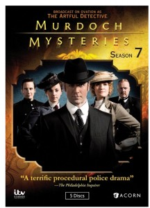 """Murdoch Mysteries Season 7"" (DVD Artwork). ©Acorn."