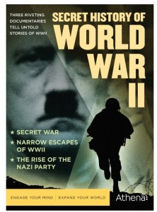 """Secret History of World War II"" (DVD Artwork). ©Athena."