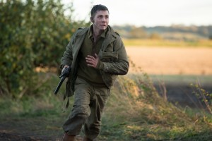 Norman Ellison (Logan Lerman) in Columbia Pictures' FURY. ©CTMG. CR: Giles Keyte.