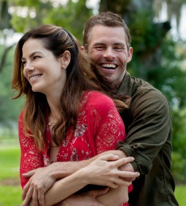 James Marsden and Michelle Monaghan star in Relativity Media's THE BEST OF ME.© 2014 Best of Me Productions, LLC. CR: Gemma LaMana.