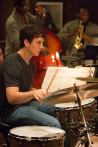 "Miles Teller as Andrew in ""Whiplash."" ©Sony Pictures Classics. CR: Daniel McFadden."