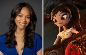 Zoe Saldana as the voice of Maria in THE BOOK OF LIFE. ©20th Century Fox. CR: Kevin Estrada.