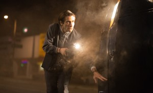 Jake Gyllenhaal as Lou Bloom in NIGHTCRAWLER. ©Open Road Films. CR: Chuck Zlotnick.