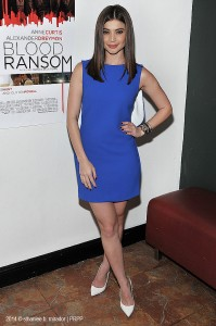 "Anne Curtis attends the ""Blood Ransom"" Press Conference at Noypitz in Glendale, CA on October 27, 2014. ©Pacific Rim Photo Press. CR: Sthanlee B. Mirador."
