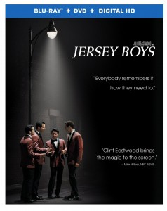 JERSEY BOYS (Blu-ray / DVD Cover Art). ©Warner Bros. Home Entertainment.