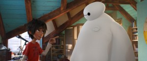 "(l-r) Hiro and Baymax in ""Big Hero 6."" ©Disney Enterprises."
