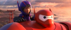 "(L-R): Hiro & Baymax in ""BIG HERO 6"" Pictured  ©2014 Disney. All Rights Reserved."