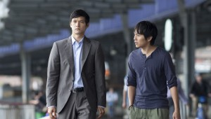 "(l-r) Harry Shum Jr. and Justin Chon star in ""Revenge Of The Green Dragons."" ©A24 Films."