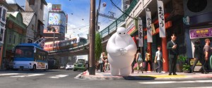 "Baymax (Scott Adsit) in ""BIG HERO 6.""  ©2014 Disney. All Rights Reserved."