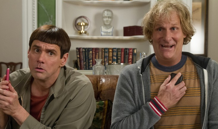 Jeff Daniels and Jim Carrey Reprise Their 'Dumb' Characters – 4 Photos