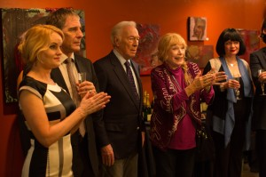 (2nd from l-r) Scott Bakula, Christopher Plummer and Shirley MacLaine star in ELSA & FRED. ©Millenium. CR: Michele K. Short