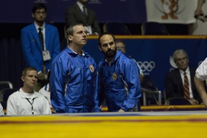 (l-r) Steve Carell and Mark Ruffalo star in FOXCATCHER. ©Sony Pictures Entertainment. CR: Scott Garfield.