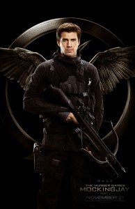 Liam Hemsworth stars as 'Gale Hawthorne' in THE HUNGER GAMES: MOCKINGJAY PART 1. ©Lionsgate. CR Murray Close.
