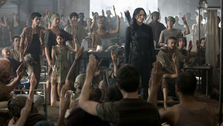 First 'Mockingjay' Only Partly Satisfies Hunger – 3 Photos