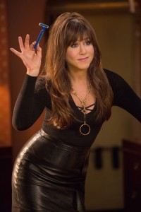 Jennifer Aniston stars as D. Julia Harris, D.D.S. in HORRIBLE BOSSES 2. ©Warner Bros. Entertainment. CR: John P. Johnson.