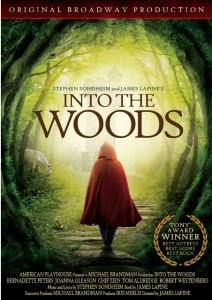 INTO THE WOODS (Blu-ray / DVD Art). ©Image Entertainment.