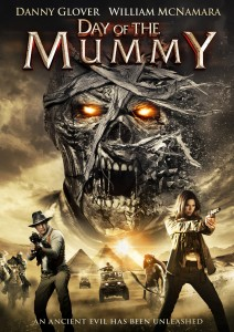 DAY OF THE MUMMY. (DVD Art). ©Image Entertainment.