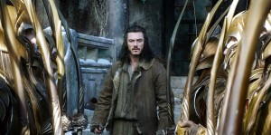 LUKE EVANS stars as Bard in THE HOBBIT: THE BATTLE OF THE FIVE ARMIES. ©MGM Pictures / Warner Bros. Entertainment.