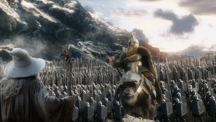Final 'Hobbit' Goes Out With a Fight