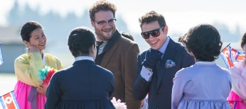 James Franco and Seth Rogen Talk On 'The Interview' – 6 Photos