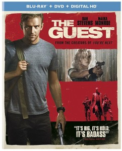 THE GUEST. (Blu-Ray / DVD Cover Art). ©USHE.