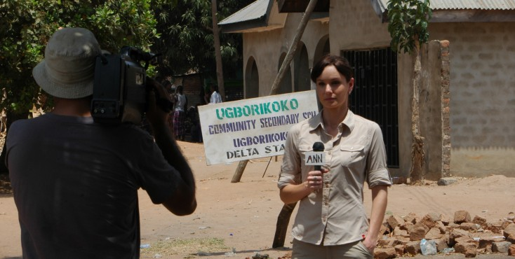 EXCLUSIVE: Sarah Wayne Callies Ventured to Rural Nigeria for Film – 3 Photos