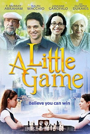 A LITTLE GAME. (DVD Artwork). ©Arc Entertainment.