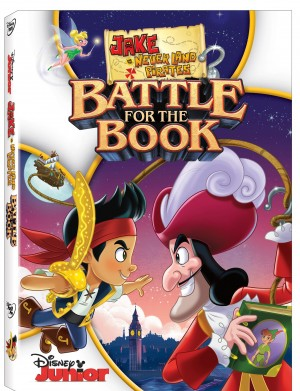 JAKE AND THE NEVER LAND PIRATEES; BATTLE FOR THE BOOK (DVD Artwork). ©Disney.