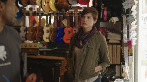 Anne Hathaway stars as Franny in SONG ONE. ©Cinedigm.