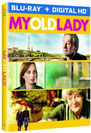 My Old Lady (Blu-ray / DVD Artwork). ©Universal Studios.