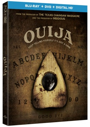 OUIJA (Blu-ray / DVD Art). ©Universal.