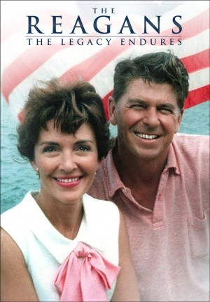 THE REAGANS: THE LEGACY ENDURES. (DVD Art). ©RLJ