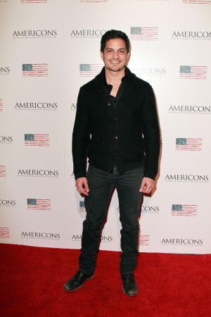 Nicholas Gonzalez arrives on the red carpet of the premiere of AMERICONS held at the Arclight Theaters in Hollywood, CA on Thursday, January 22, 2015. ©Theresa Bouche