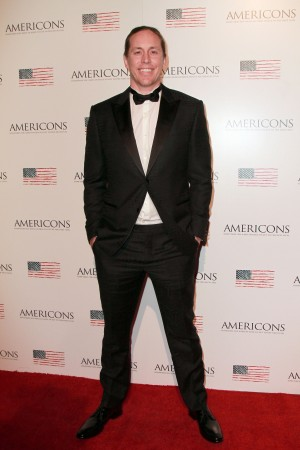 Co-Creator and star Beau Martin Williams arrives on the red carpet of the premiere of AMERICONS held at the Arclight Theaters in Hollywood, CA on Thursday, January 22, 2015. ©Theresa Bouche