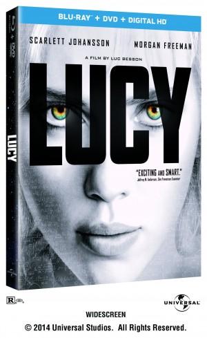 LUCY. (Blu-ray/DVD Art). ©Universal Studios.