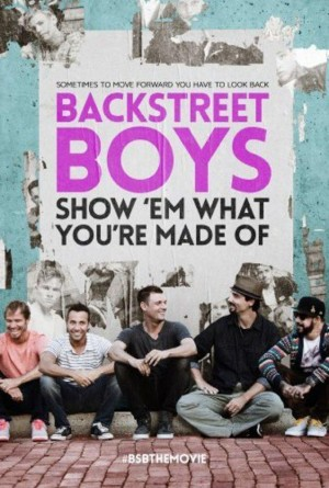 """BACKSTREET BOYS: SHOW 'EM WHAT YOU'RE MADE OF."" ©Gravitas Ventures."