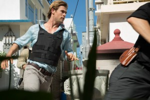 CHRIS HEMSWORTH stars as Nicholas Hathaway in BLACKHAT. ©Universal Pictures/Legendary Pictures. CR: Frank Connor.