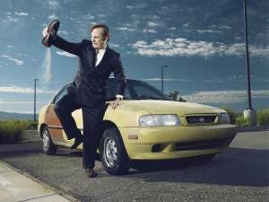 Bob Odenkirk as Saul Goodman in BETTER CALL SAUL.Better Call Saul. ©Ben Leuner/AMC