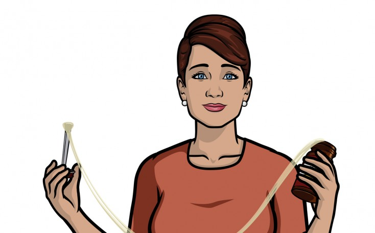Ubiquitous Judy Greer Talks Dirty in 'Archer'